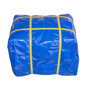 High Quality Double Blue Pe Tarpaulin For Sunshade